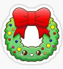 Pegatina Christmas Wreath