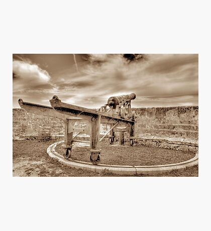 Fort Fincastle in Nassau, The Bahamas Photographic Print