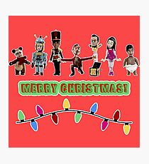 Stop Motion Christmas - Style G Photographic Print