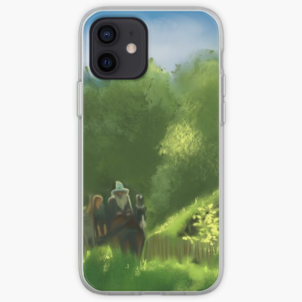 Riding with old friends  iPhone Soft Case