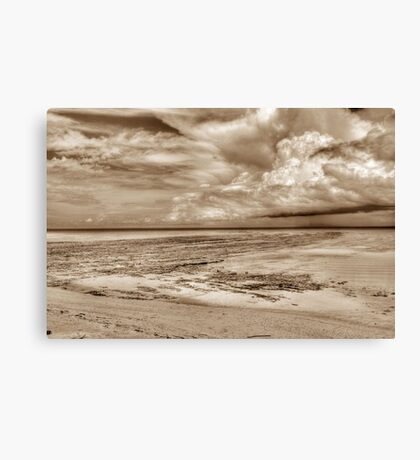 Storm coming from the East at Yamacraw Beach in Nassau, The Bahamas Canvas Print
