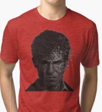 True Detective-Rustin Cohle Tri-blend T-Shirt