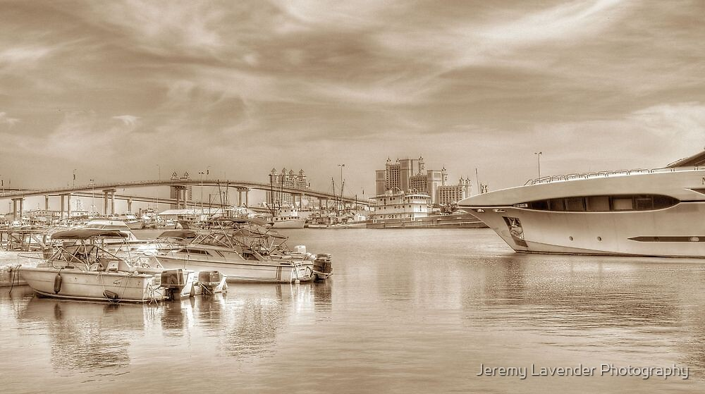 View of Atlantis and Potter's Cay from East Bay Street in Nassau, The Bahamas by Jeremy Lavender Photography