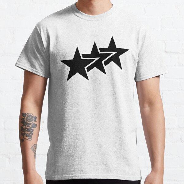 Black Tri-Stars Classic T-Shirt