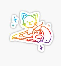 Rainbow Pizza Kitty Sticker