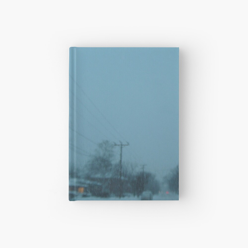 Through the storm Hardcover Journal