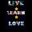 LIVE LEARN LOVE by Rowans Designs