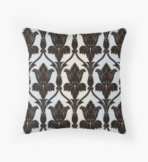 Sherlock Wallpaper Print Throw Pillow