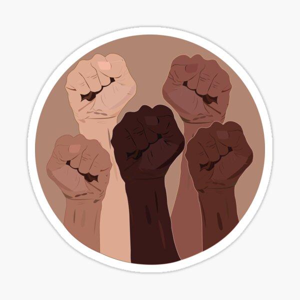 United Power Fists  Sticker