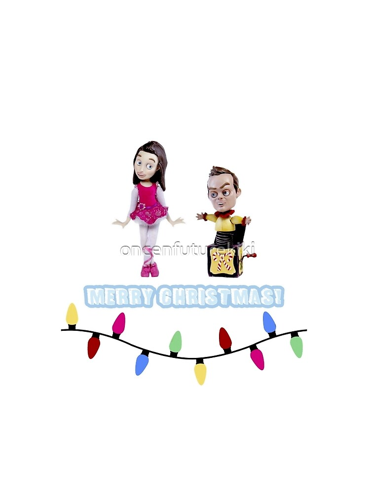 Stop Motion Christmas - Jeff/Annie (Style E) by oncenfuturekiki