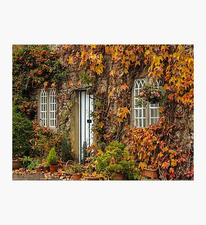Alport Village Cottage Photographic Print