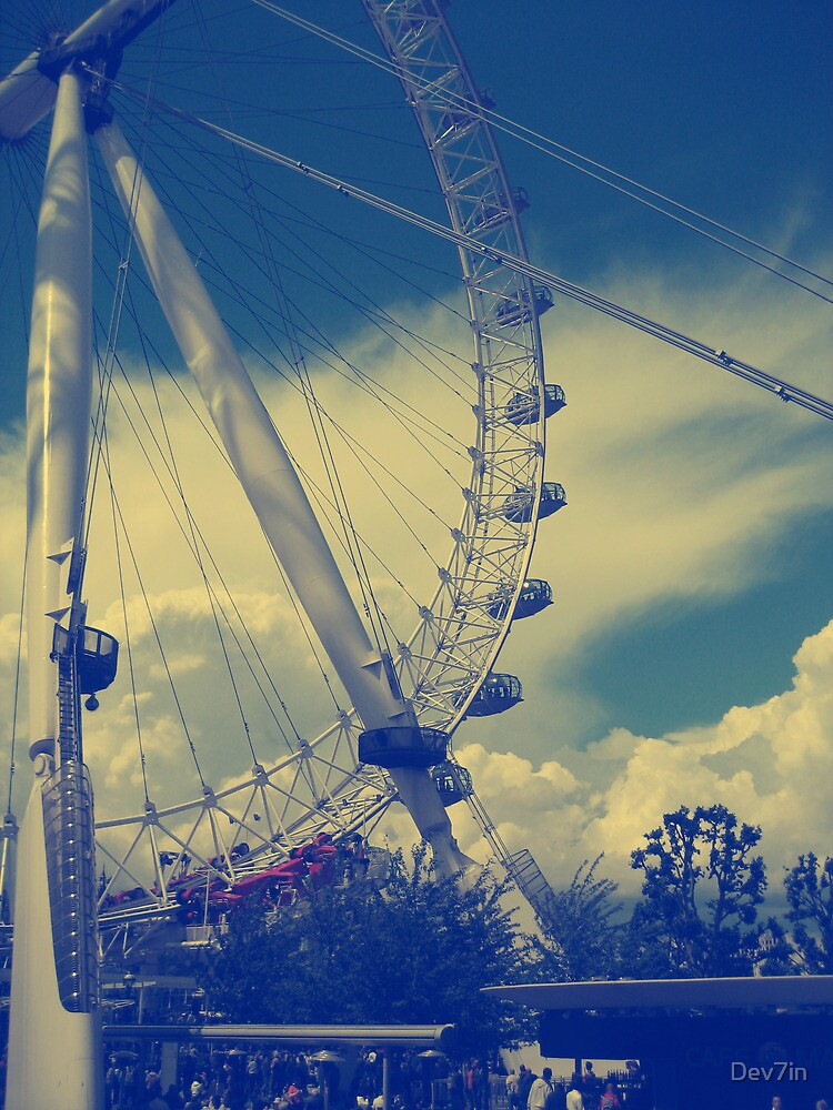London Eye by Dev7in