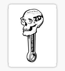 ZON Skull  Sticker
