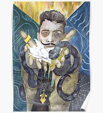 Dorian Pavus Romance Tarot Poster