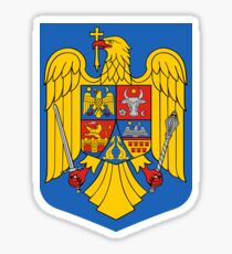 Coat of Arms of Romania Sticker