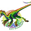 Gay Guanlong (with text)  by R.A.  Faller