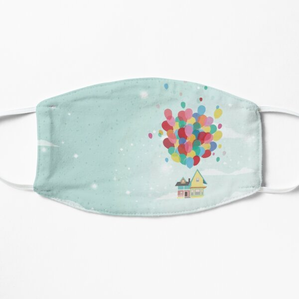 Adventure is Out There Flat Mask