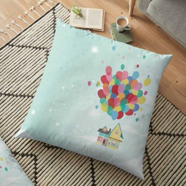Adventure is Out There Floor Pillow