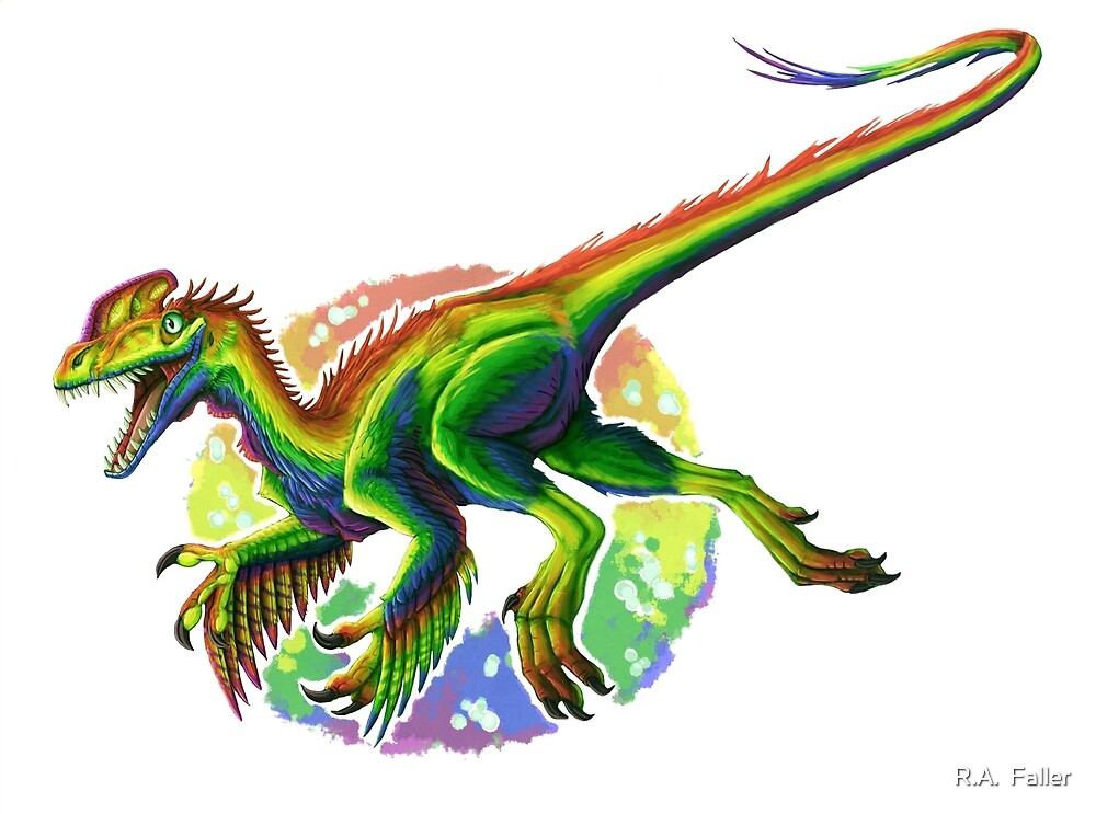 Guanlong (without text)  by R.A.  Faller