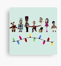 Stop Motion Christmas - Style E Canvas Print
