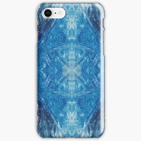 Crystalline Blue 4 iPhone Snap Case