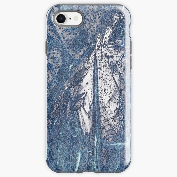 Crystalline Blue 3 iPhone Tough Case