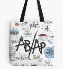 Fall Out Boy Lyric Art Tote Bag
