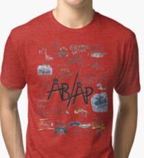 Fall Out Boy Lyric Art Tri-blend T-Shirt