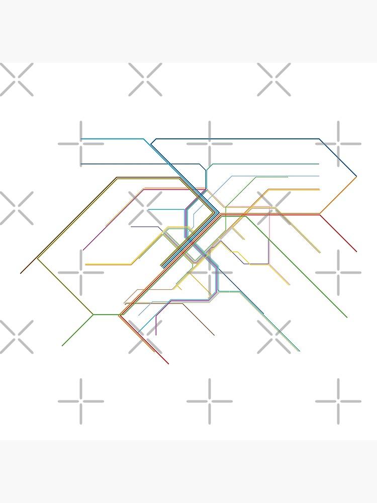 Stuttgart Rail Map by in-transit
