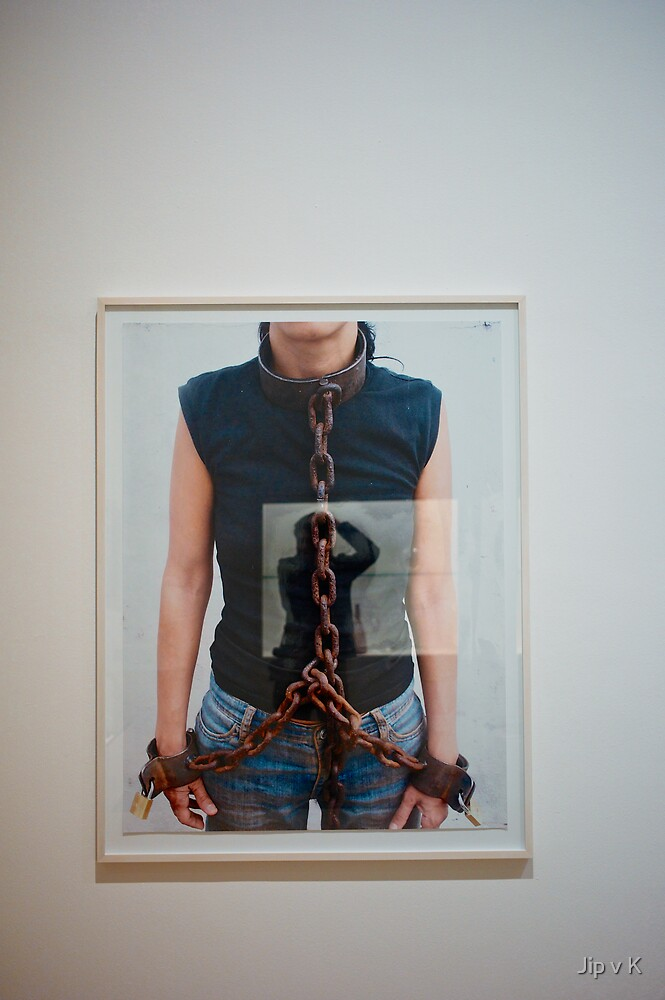 Chained, reflection me by Jip v K