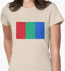 Flag of Mars - High quality authentic version Womens Fitted T-Shirt