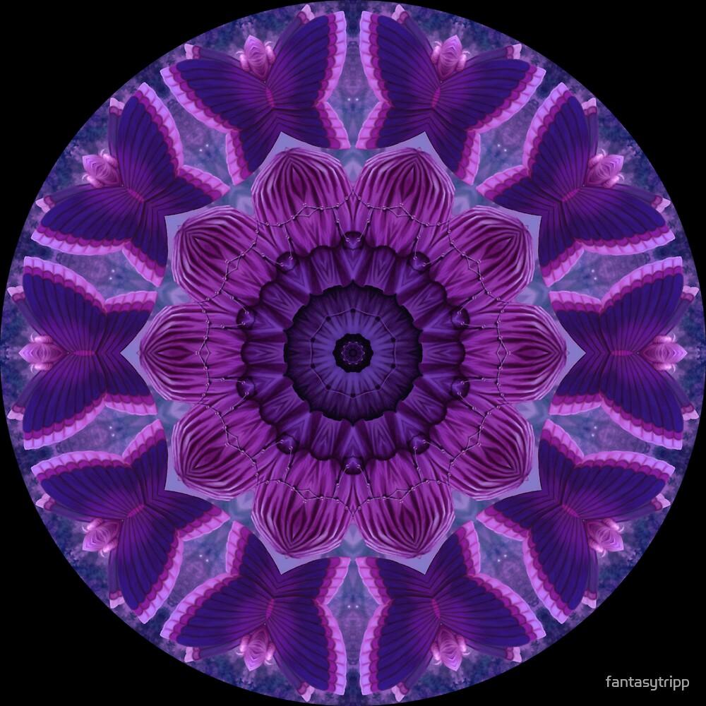 Purple Material Kaleidoscope by fantasytripp