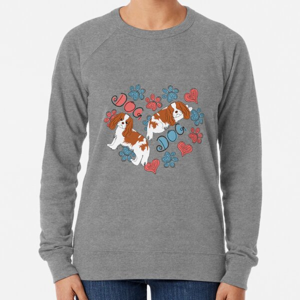 Cavalier King Charles Spaniel Dog Lightweight Sweatshirt