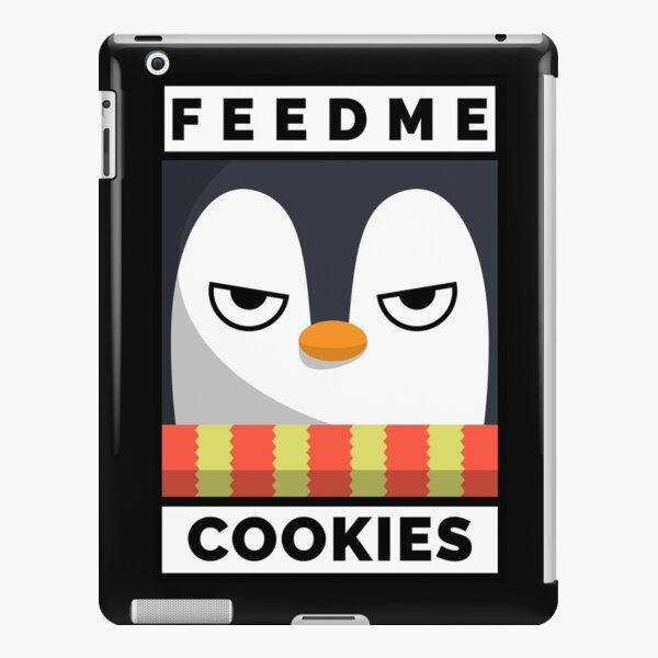 Feed Me Cookies: Christmas Angry Lil Pigeon iPad Snap Case