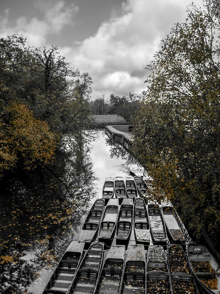 Boats on the Canal by PurestPictures