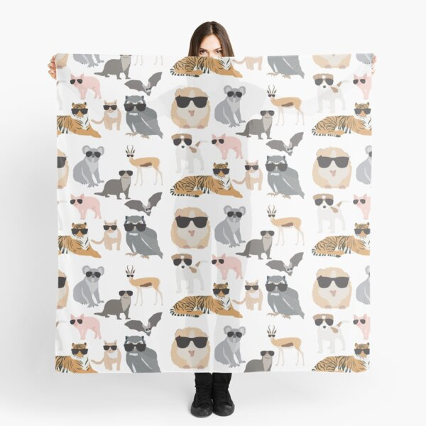 Cool and Funny Animals Wearing Sunglasses  Scarf