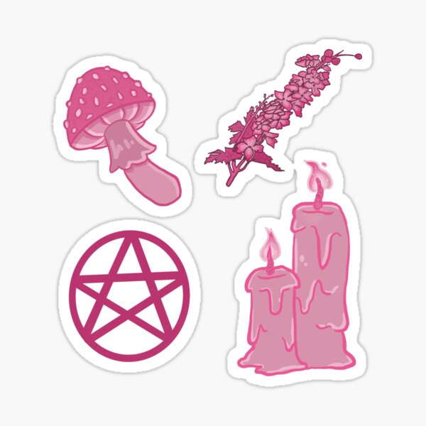 The Pink Witch Kit Sticker
