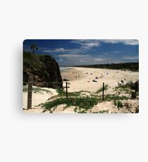 Dreamtime Beach Canvas Print