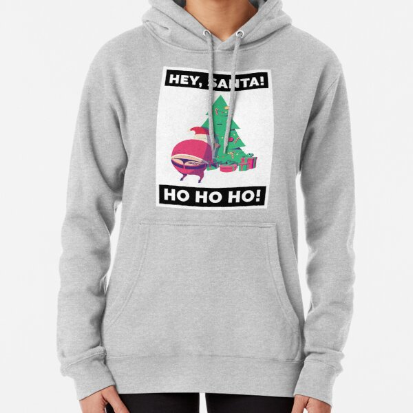Hey, Santa: Ho Ho Ho! Naughty Lil Santa Pullover Hoodie