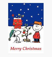 Charlie Christmas Tree Photographic Print