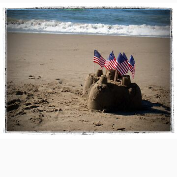 Sandcastle with Flags by jwzook