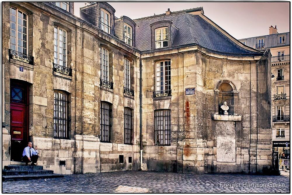 Saint Germain de Près, Paris.  by Forrest Harrison Gerke