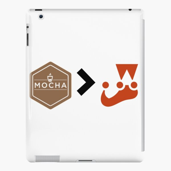 Mocha better than Jest Unit Testing Javascript iPad Snap Case