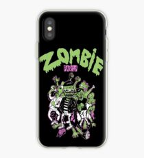 Zombie party iPhone Case