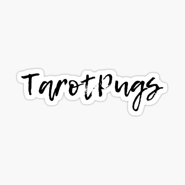 TarotPugs Sticker