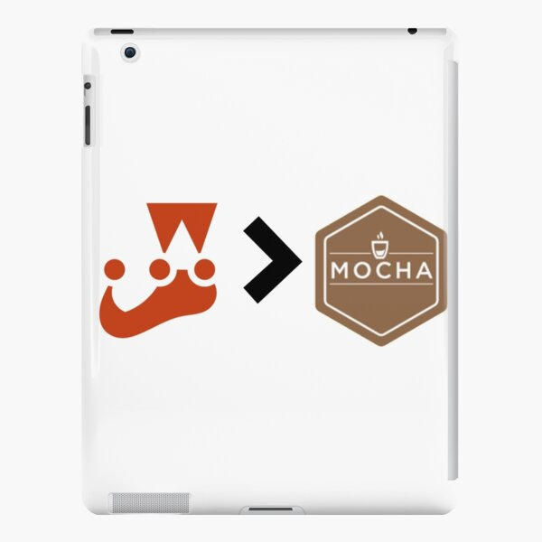 Jest better than Mocha Unit Testing Javascript iPad Snap Case