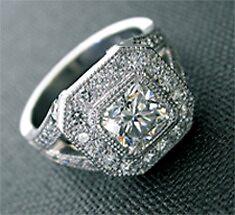 Diamond Engagement Ring by ellissiau