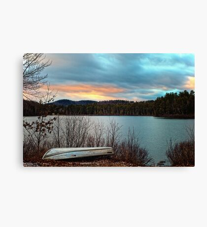 Edge of the Lake Canvas Print