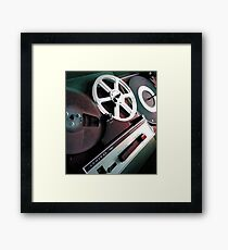 Admiral Tape Recorder Framed Print