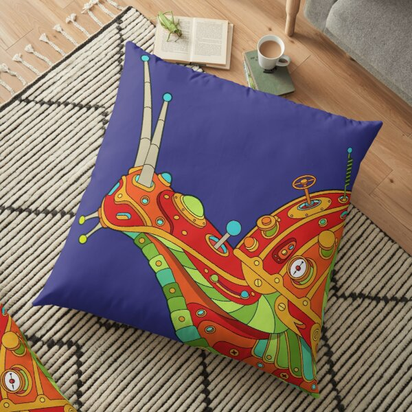 Snail Floor Pillow